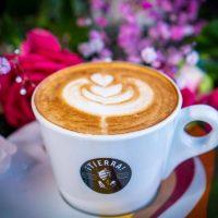 Decorative Caffe Latte art.